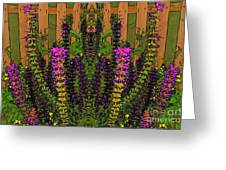 Fantasy Garden Two Greeting Card