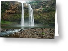Fantasy Island Falls Greeting Card