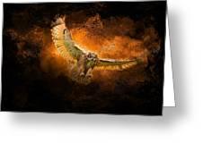 Fantasy Owl Greeting Card