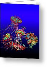 Fantasy Sea Life1 Greeting Card