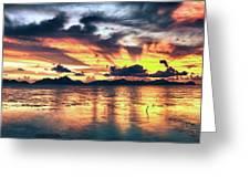Fantasy Sunset Greeting Card