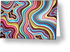 Fantasy Swirl Greeting Card