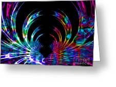 Fantasy Tunnel Greeting Card