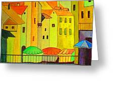 Far Away Places  Greeting Card