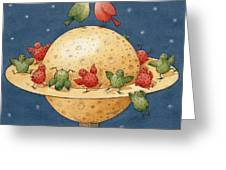 Far Planet Greeting Card