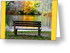 Farewell Autumn Greeting Card