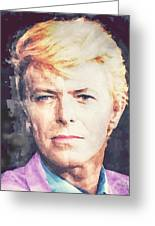 Farewell David Bowie Greeting Card
