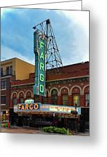 Fargo Theater Greeting Card