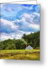 Farm - Barn - Home On The Range II  Greeting Card