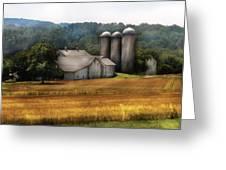 Farm - Barn - Home On The Range Greeting Card