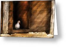 Farm - Duck - Welcome To My Home  Greeting Card