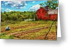 Farm - Farmer - Farm Work  Greeting Card