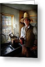 Farm - Farmer - The Farmer Greeting Card