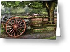 Farm - Horse - Grey Mare Greeting Card