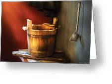 Farm - Pail - Water Pail And Ladel Greeting Card