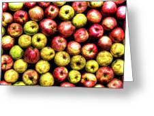 Farm Apples Greeting Card