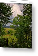 Farm Before The Storm Greeting Card