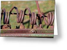 Farm Equipment 7 Greeting Card