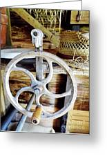 Farm Equipment Corn Sheller Greeting Card