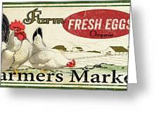 Farm Fresh Eggs-c Greeting Card