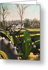 Farm In Chapel Hill Greeting Card