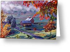 Farm In The Dell Greeting Card