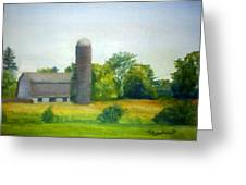 Farm In The Pine Barrens  Greeting Card