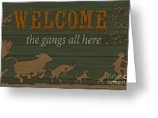 Farm Life-jp3222 Greeting Card