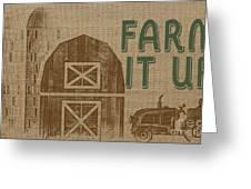Farm Life-jp3235 Greeting Card