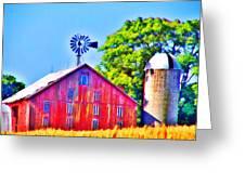 Farm Near Gettysburg Greeting Card