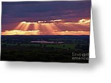 Farm Rays Greeting Card