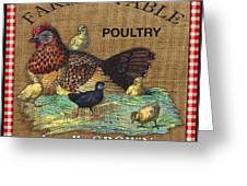 Farm To Table-jp2388 Greeting Card