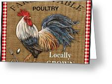Farm To Table-jp2390 Greeting Card