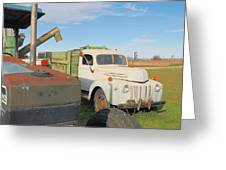Farm Truck Greeting Card