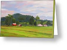 Farm, Washington County Greeting Card