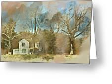 Farmhouse - Gordonsville Va Greeting Card