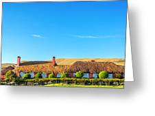 Farmhouse In Ecuador Greeting Card