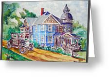 Farmhouse Near Atchison Greeting Card
