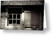 Farmhouse Window Greeting Card