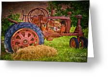 Farming In Hanksville Utah Greeting Card