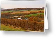 Farming In The Valley Greeting Card