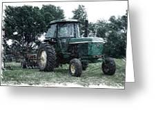 Farming John Deere 4430 Pa 01 Greeting Card