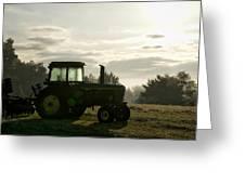 Farming John Deere 4430 Greeting Card