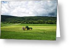Farming New York State Before The July Storm 03 Greeting Card