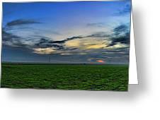 Farmland Panorama Greeting Card