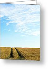 Farmland To The Horizon 2 Greeting Card