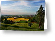 Farmland View Greeting Card