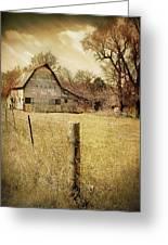 Farmscape Greeting Card