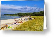 Faro Beach Greeting Card