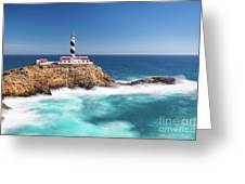 Faro Cala Figuera Greeting Card